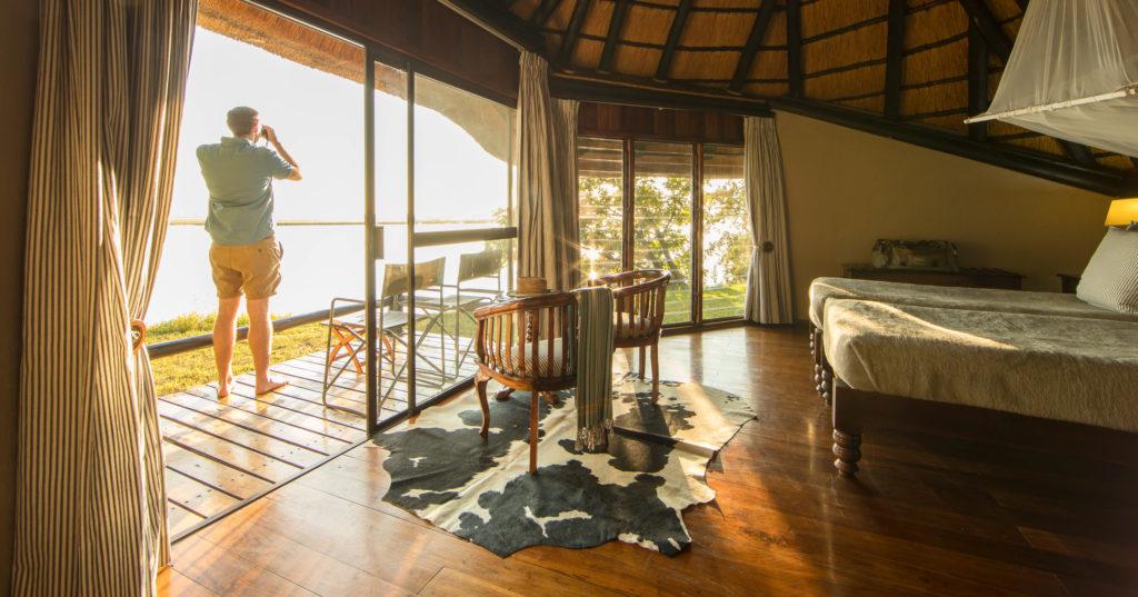 Luxury accommodation at Chobe Savanna Lodge