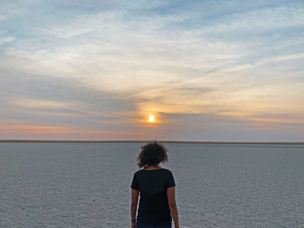 Botswana Salt Pans Sleep out with Leroo La Tau