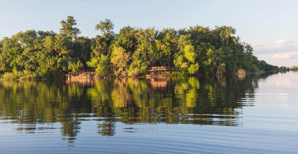 Private Island stay at Xugana Island Lodge
