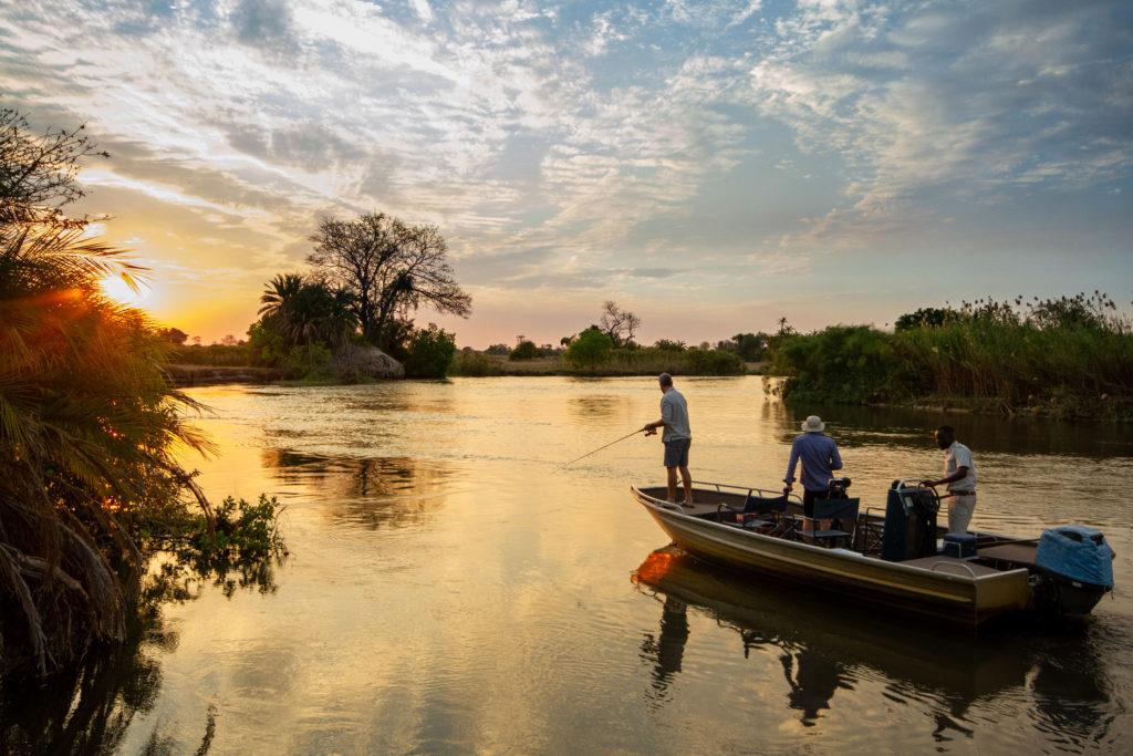 Fishing in the Okavango Delta with Nxamaseri Island Lodge