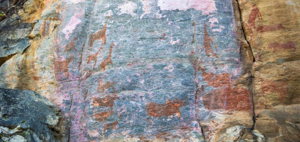 San Paintings at Tsodilo Hills